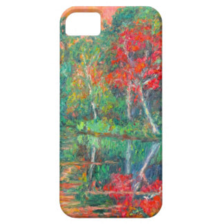 Fall Reflections at Peaks of Otter iPhone 5 Cover