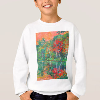 Fall Reflections at Peaks of Otter Sweatshirt