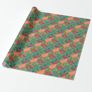 Fall Reflections at Peaks of Otter Wrapping Paper