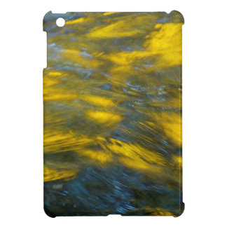 Fall Reflections in Gray and Yellow Case For The iPad Mini