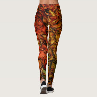 Fall Reflections Water Ripples Leggings