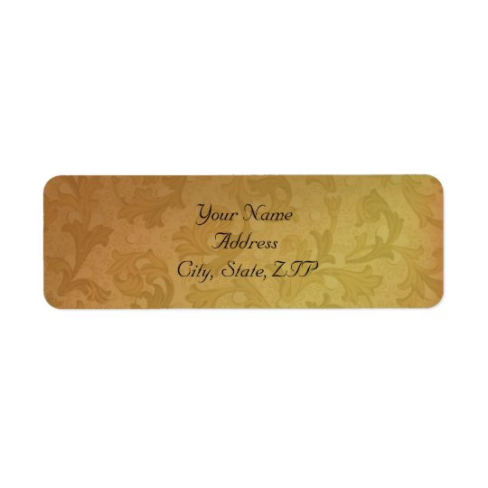 Fall Regency Return Address Return Address Label
