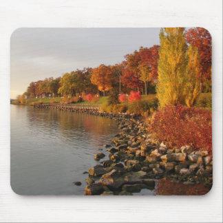fall river bank mouse pad