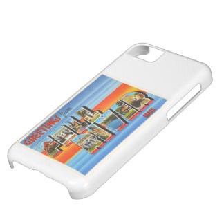 Fall River Massachusetts MA Old Travel Souvenir Cover For iPhone 5C