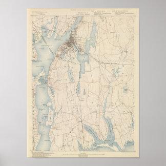 Fall River, Massachusetts Poster