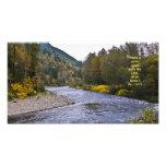 Fall River Print w/Scripture Verse Photo Print