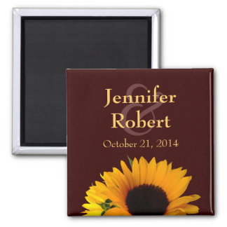 Fall Save the Date Magnet