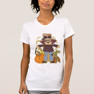 Fall Scarecrow womens t-shirt