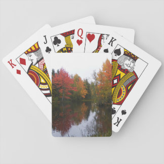 Fall Scenery Poker Cards
