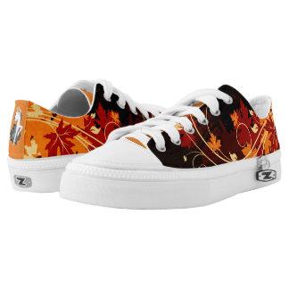 Fall Season Custom Low-Top Sneakers