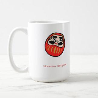 Fall Seven Times Stand Up Eight Coffee Mug