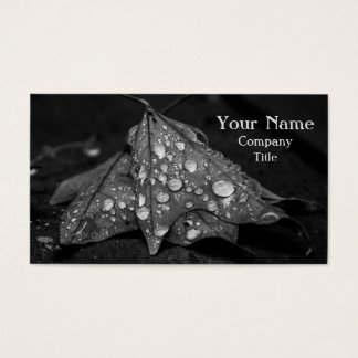 Fall Showers Business Card