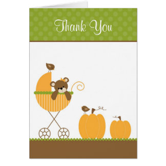 Fall Stroller Note Cards