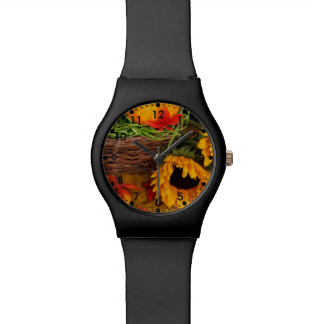 Fall Sunflowers Watch