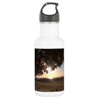 Fall Sunrise At The Lake 532 Ml Water Bottle