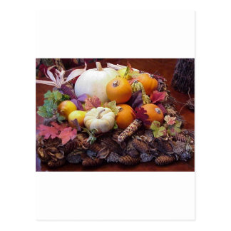 fall table postcard