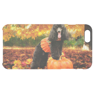 Fall Thanksgiving - Gidget - Poodle Clear iPhone 6 Plus Case