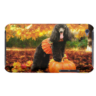 Fall Thanksgiving - Gidget - Poodle iPod Touch Case