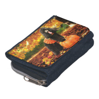 Fall Thanksgiving - Gidget - Poodle Wallet