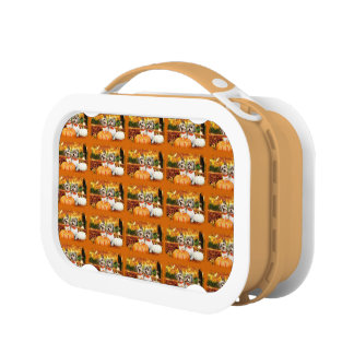 Fall Thanksgiving - Max & Leo - Yorkies Lunch Box