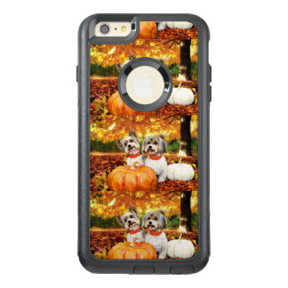 Fall Thanksgiving - Max & Leo - Yorkies OtterBox iPhone 6/6s Plus Case