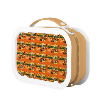 Fall Thanksgiving - Max - Yorkie Lunch Box