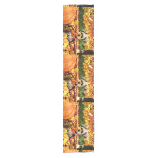 Fall Thanksgiving - Max - Yorkie Short Table Runner