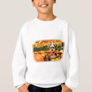 Fall Thanksgiving - Max - Yorkie Sweatshirt