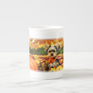Fall Thanksgiving - Max - Yorkie Tea Cup