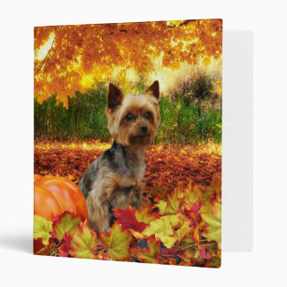 Fall Thanksgiving - Tucker - Yorkie Binders