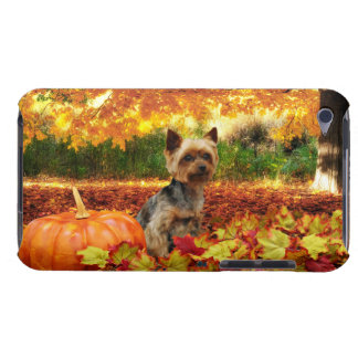 Fall Thanksgiving - Tucker - Yorkie Case-Mate iPod Touch Case