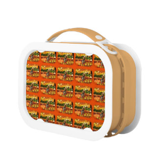 Fall Thanksgiving - Tucker - Yorkie Lunch Box