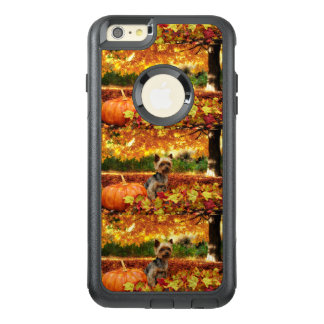 Fall Thanksgiving - Tucker - Yorkie OtterBox iPhone 6/6s Plus Case
