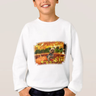 Fall Thanksgiving - Tucker - Yorkie Sweatshirt