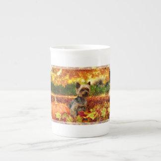 Fall Thanksgiving - Tucker - Yorkie Tea Cup