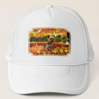 Fall Thanksgiving - Tucker - Yorkie Trucker Hat