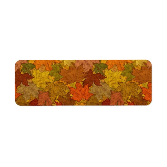 Fall Token Return Address Label