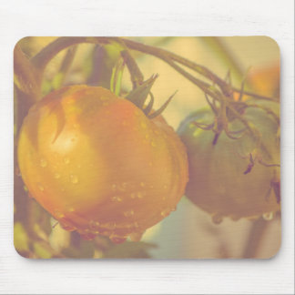 Fall Tomatoes Garden Mouse Pad