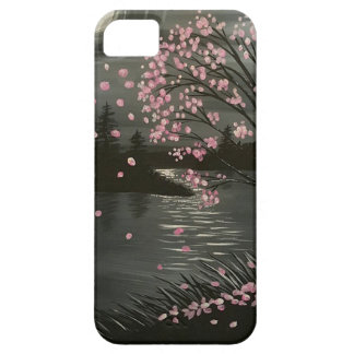 Fall tree in moonlight case for the iPhone 5