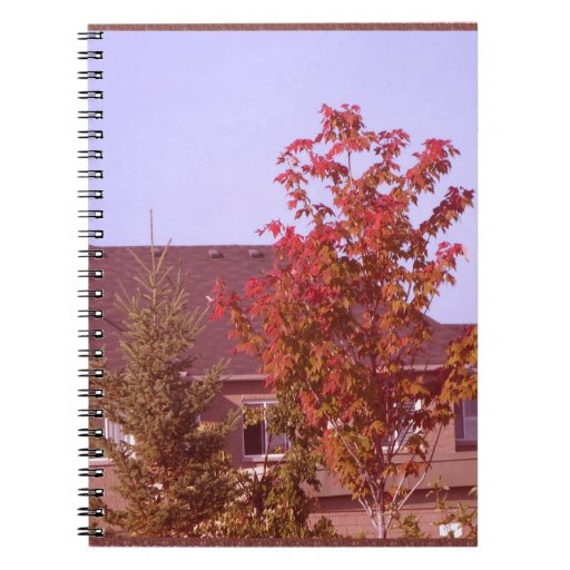 FALL Tree Oakville Ontario Gifts Shirts Spiral Note Book
