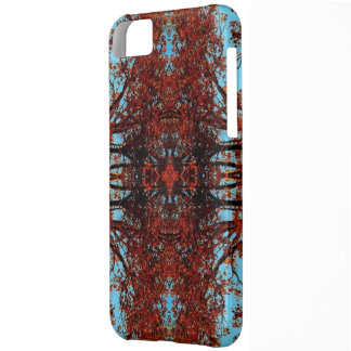 Fall Trees Abstract Photo Phone Case