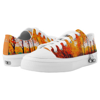 Fall Trees Autumn Low-Top Sneakers