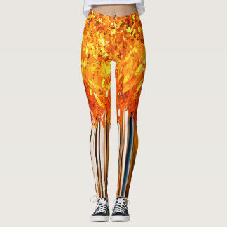 Fall Trees - Custom Leggings
