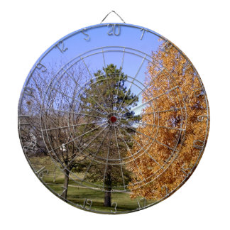 Fall Trees Dartboard