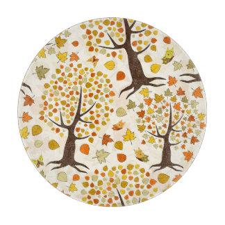 Fall Trees Print Pattern Boards