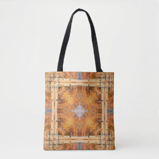 Fall Trees Reflection Tote