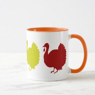 Fall Turkeys Mug