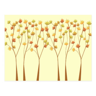 Fall Twig Tree - Reception card