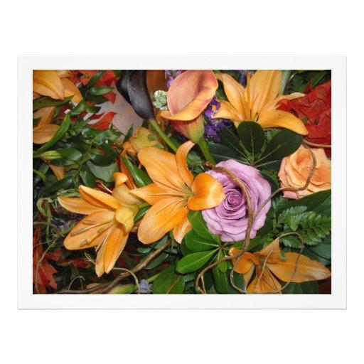 Fall Wedding Flowers Flyer