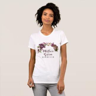 Fall Wedding Wreath Plum Mother of the Groom ID465 T-Shirt